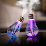 Bulb Humidifier Aroma Diffuser Air Purifier With Colorful Changing Lights