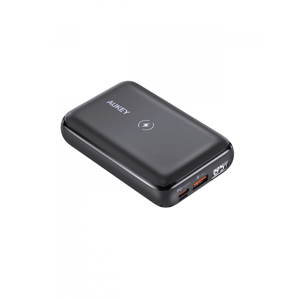 Aukey PB-WL01S 20W 10000mAH PD Wireless Charging with Kickstand Power bank