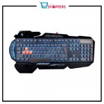 A4Tech B318 Light Strike Gaming Keyboard Black